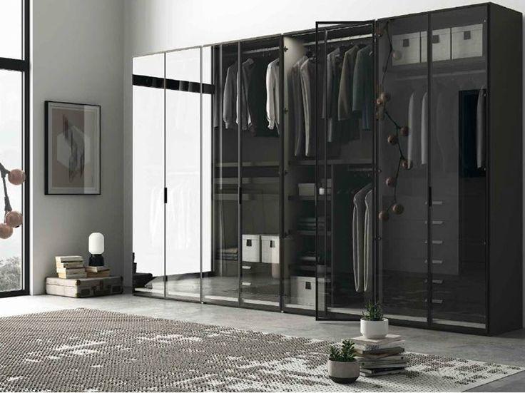 New Kleiderschrank aus Glas EMOTION ANTA GLASS Kollektion Emotion by Dall uAgnese Design