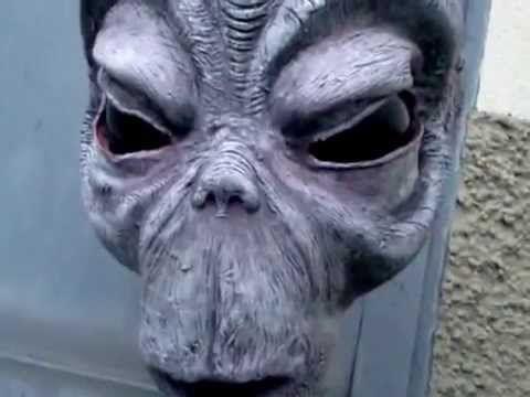 testa di alieno