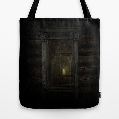 In my world Tote Bag by Oscar Tello Muñoz - $22.00
