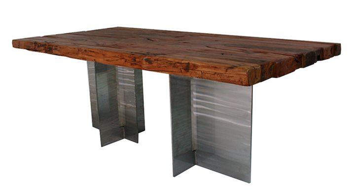 Mesa de centro madera. www.amoble.cl