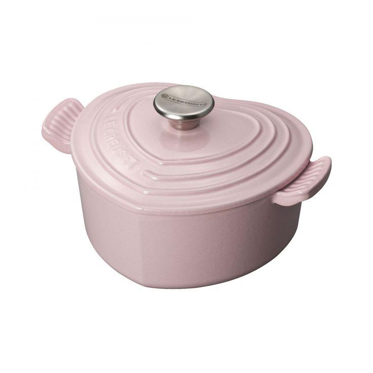 Heart Casserole Chiffon Pink