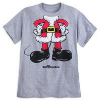 Mickey Mouse Santa Suit T-Shirt for Adults - Walt Disney World #affiliate #sale