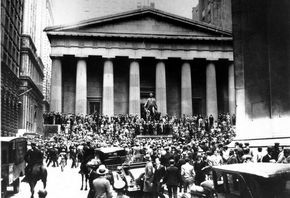 The Wall Street Crash of 1929 was the most devastating stock market crash in the history of the United States, taking into consideration the full extent and duration of its fallout.