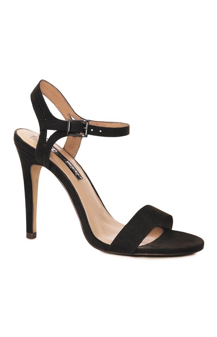 Primark corking Black Strap Sandal