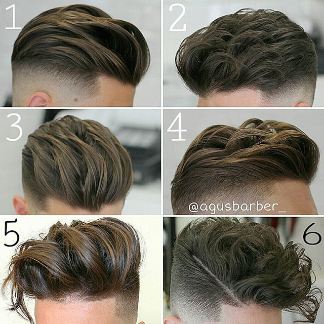 Choose your favourite hairstyle | By Agus Barber [Undercut - Hair - Men - Long Top]