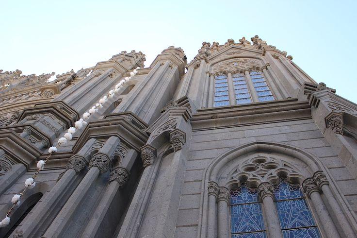 Church architecture in Gran Canaria.