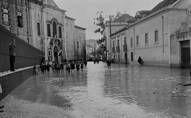 Lisboa de Antigamente: Rua Beneficência