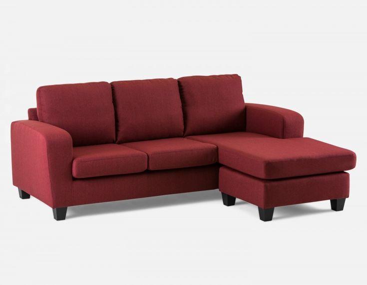 ARNOLD - Interchangeable Sectional Sofa - Bordeaux