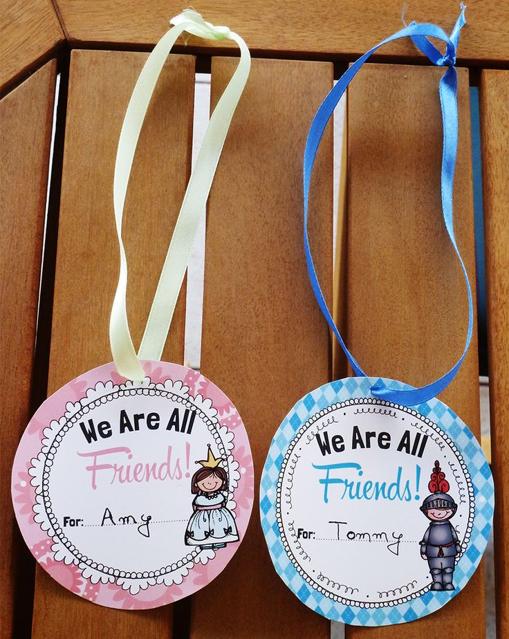 Back to school - Friendship Medals (back to school bonding game!)