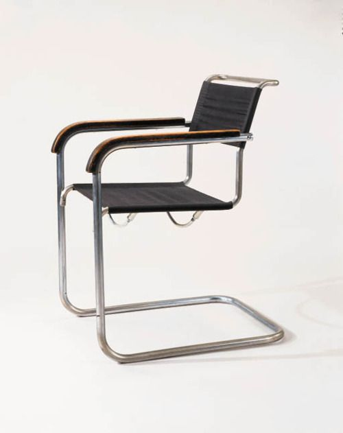 marcel breuer model b34 armchair for thonet 1928 chairs pinterest armchairs marcel. Black Bedroom Furniture Sets. Home Design Ideas