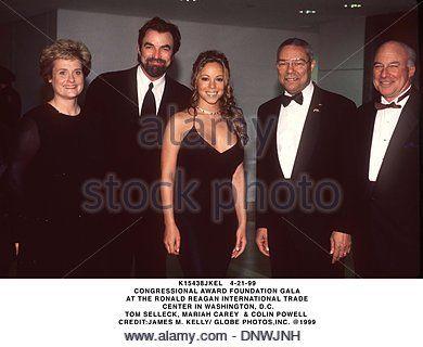 Apr. 21, 1999 - K15438JKEL 04/21/99.CONGRESSIONAL AWARD FOUNDATION GALA.AT THE RONALD REAGAN INTERNATIONAL TRADE.CENTER - Stock Photo