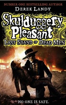 Children's Book Week review: Skulduggery Pleasant:   Which books i this one? O.O