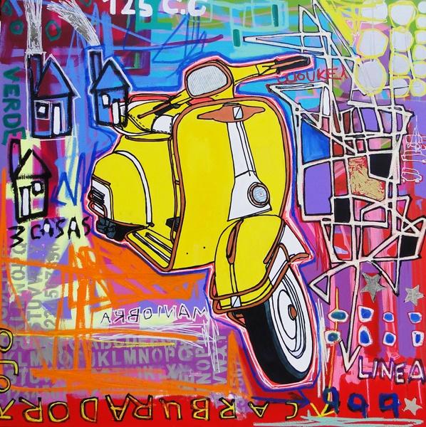Carburador Rojo by Leonardo Pineda