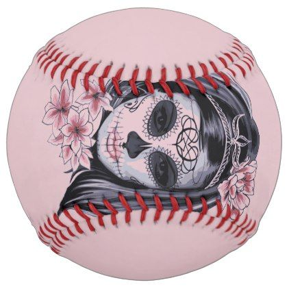 Woman skeleton mask softball - party gifts gift ideas diy customize
