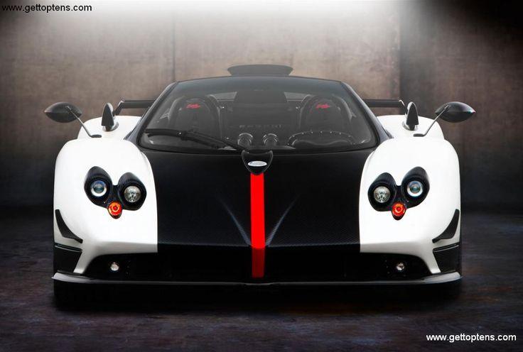 Pagani Zonda Cinque Roadster most expensive cars (Price $1,850,000.00)