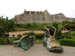 Old Shoes -Cartagena