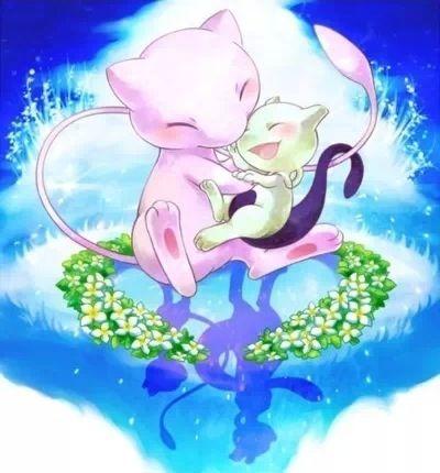 mew and mewtwo pokemon cute pokemon pokémon pokemon mew pikachu