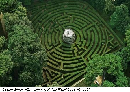 labyrinth at villa pisani, strà (venice - italy) I missed this,  I need to go back