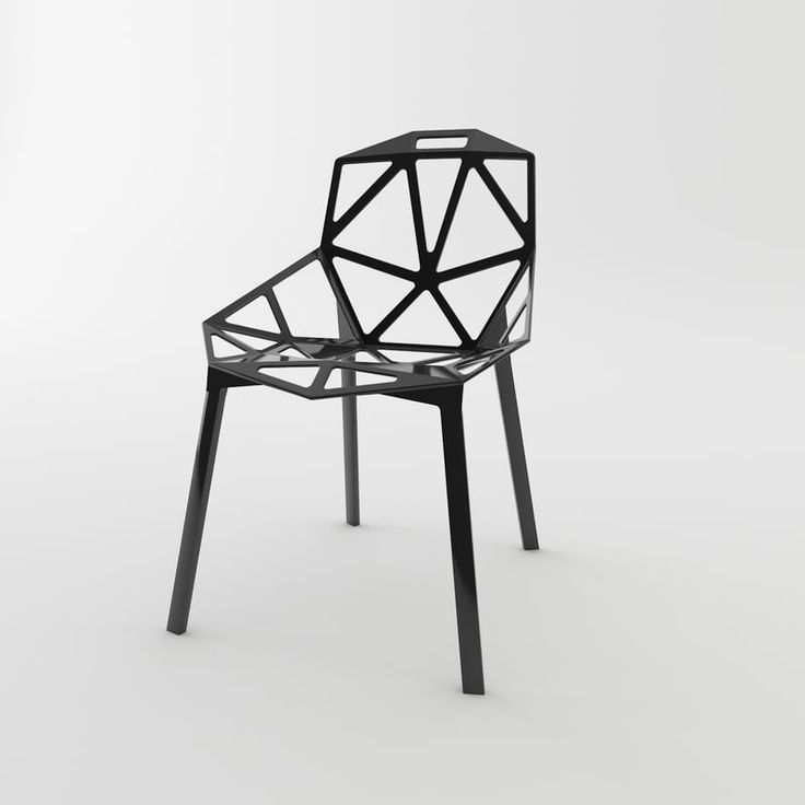 Magis Chair_One Stacking, Set of 2 #furniture#black-and-white #chair #furniture