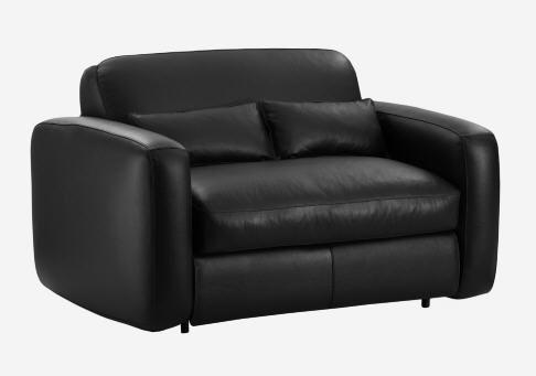 Soldes Canapé cuir Habitat, achat BOSCO Canapé lit compact en cuir prix Soldes Habitat 1 160 € TTCau lieu de 1450 € - 20 %.