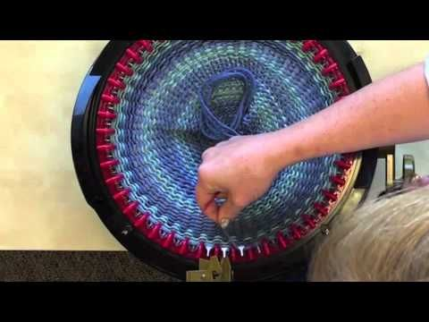 ▶ Making A Hat in less than 30 minutes on the addi Express Knitting Machine - YouTube
