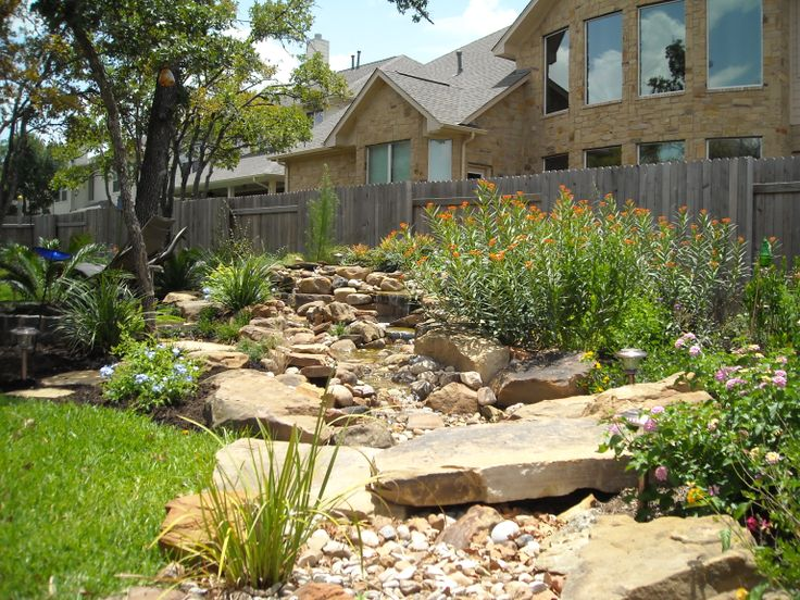 Dry River Bed Landscaping Ideas