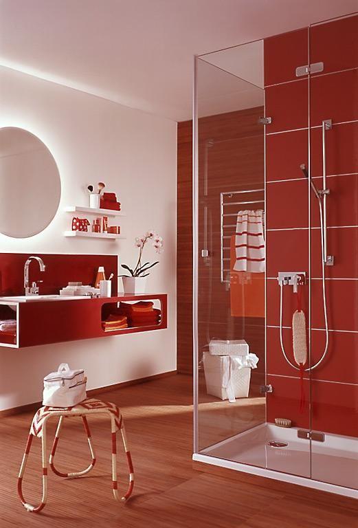 Die besten 25+ Rote badezimmer Ideen auf Pinterest Graues - wandgestaltung bei weien fliesen