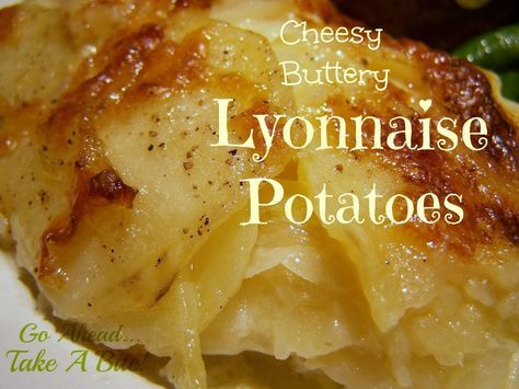 Go Ahead... Take A Bite!: Lyonnaise Potatoes ~ Great for Easter!