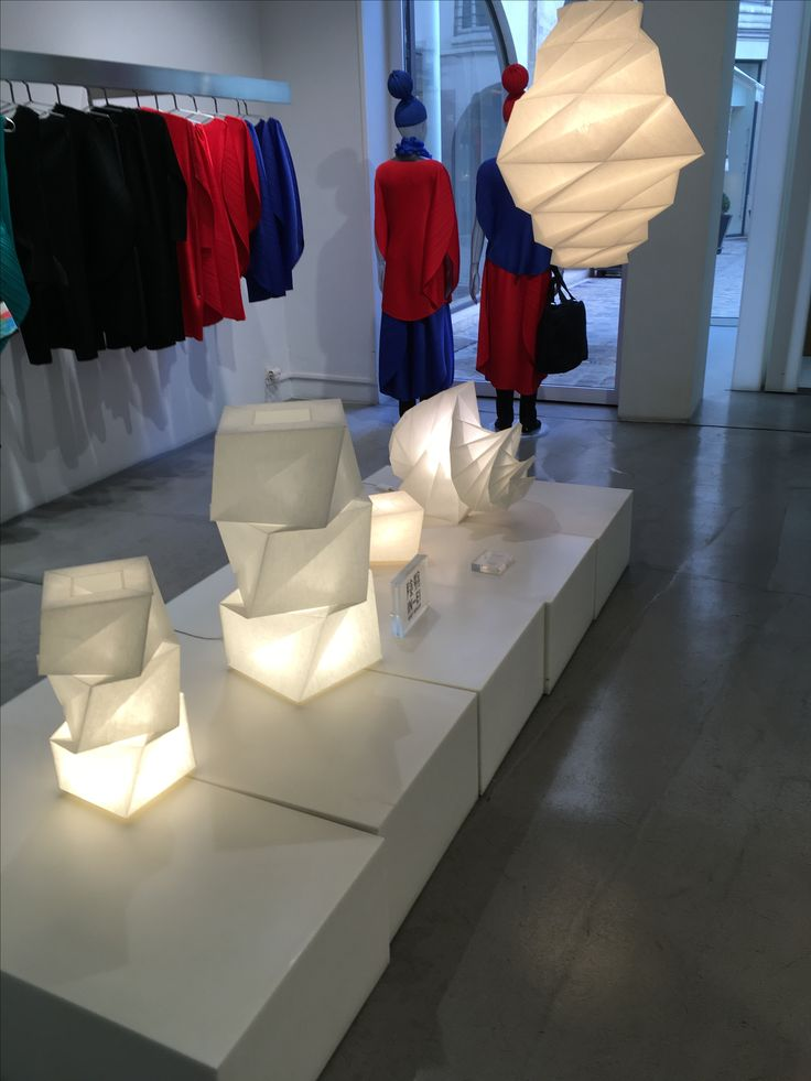 Issey Miaki lamps
