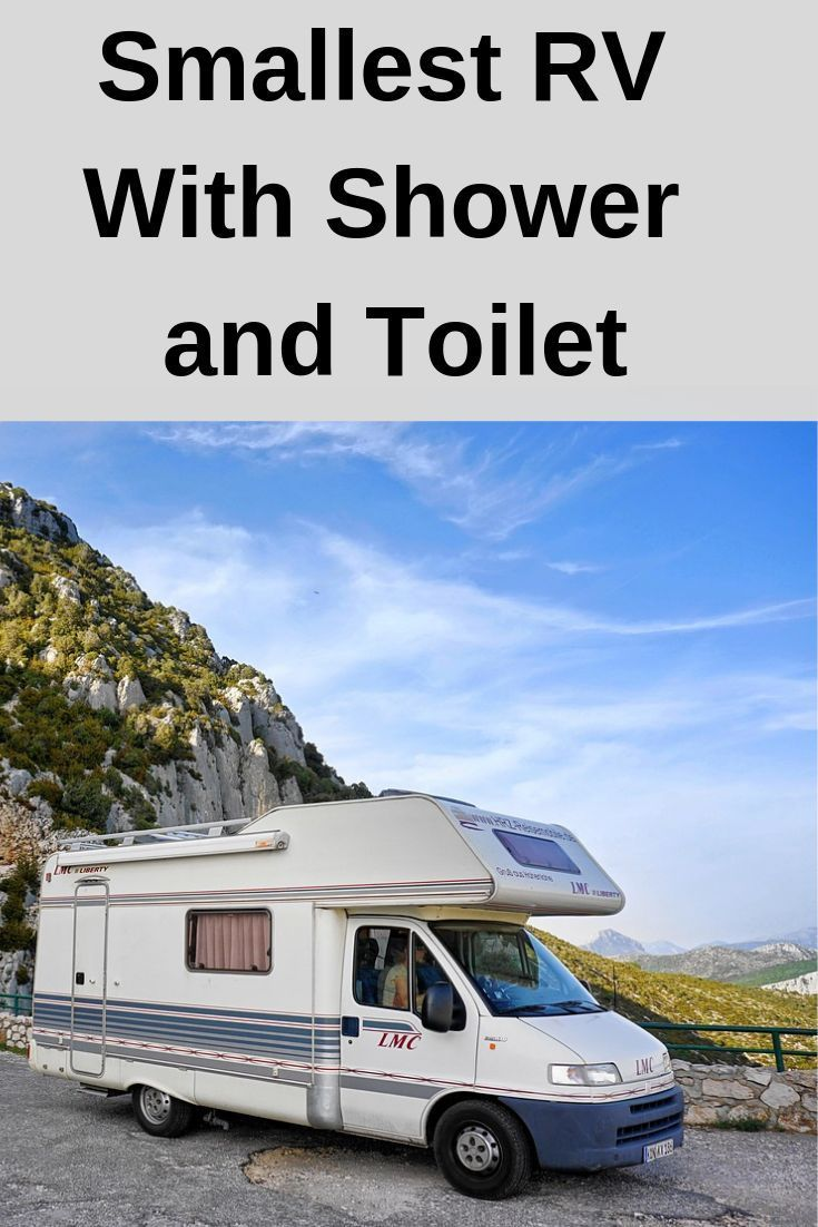 Bon Smallest RV With Shower And Toilet.