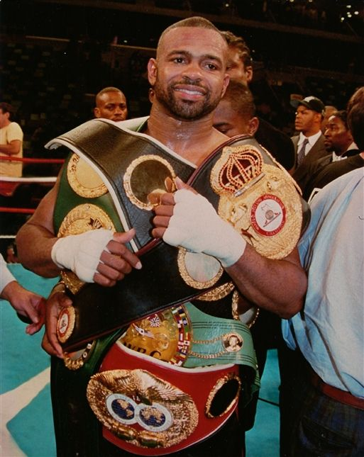 Boxing's Best ever to step in a Ring the Pound for Pound King Roy Jones Jr