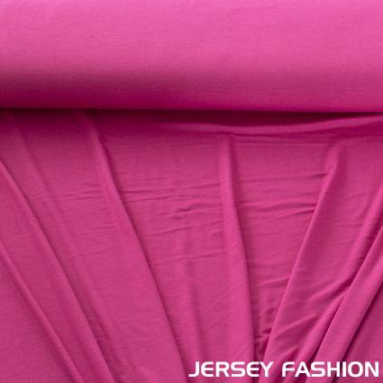 Toptex bamboo jersey fuchsia - Bamboo tricot fabrics