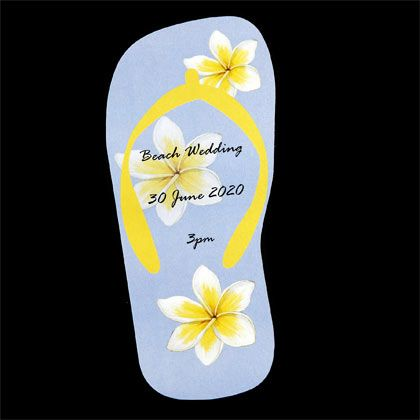 If you are planning a wedding in Hawaii these wedding invitations could be just right for you. www.kardella.com