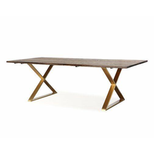 Alvaro Dining Table Reviews Joss Main Stainless Steel