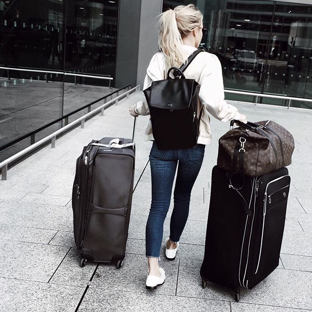 Pin for Later: 11 Style Hacks to Remember the Next Time You're Packing For a Cold-Weather Vacation Bring a Cute Backpack That Fits All Your Valuables