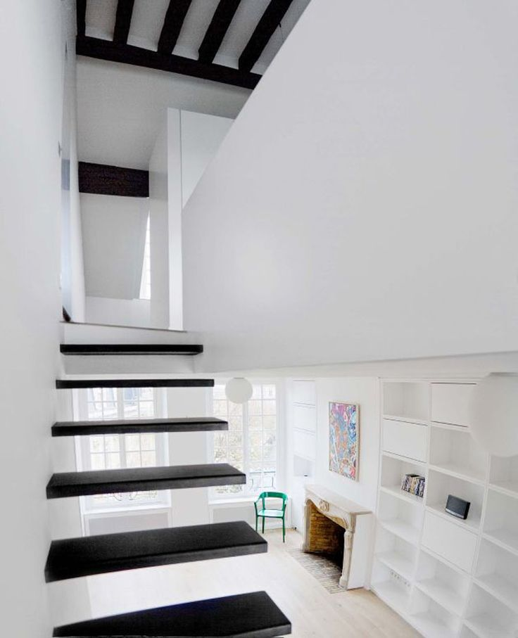 Awesome Best Sample Natural White And Black Apartment Interior Themes By