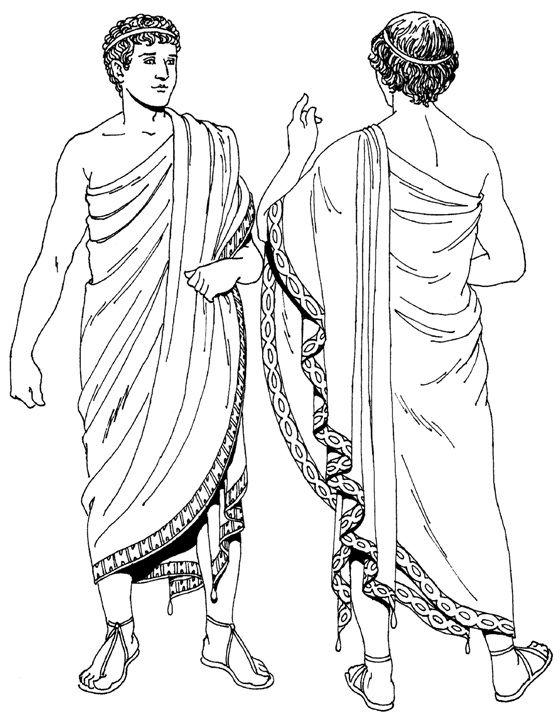 Картинки греков в одежде
