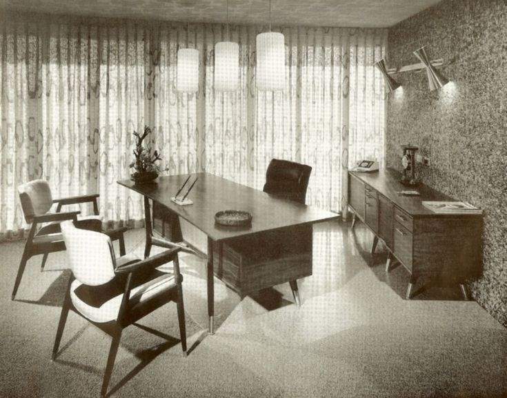 1964. If only my home office could look like this!