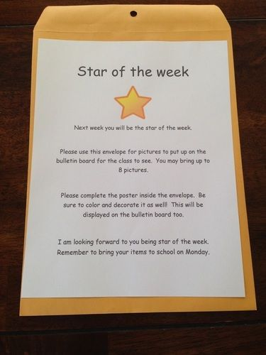 Image result for star of the week bulletin board ideas