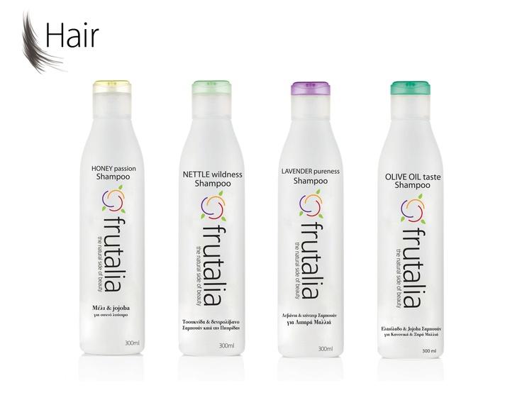 Frutali hair shampoo container