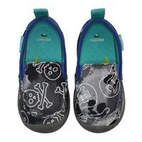 Scout in Rock  CHOOZE Shoes: Our shoes are different. Always. The left shoe is always different from the right. The collection features fun and colorful vegan shoes for toddlers, kids, youth, and women. Sizes range from 4 Toddler to 11 Women's.