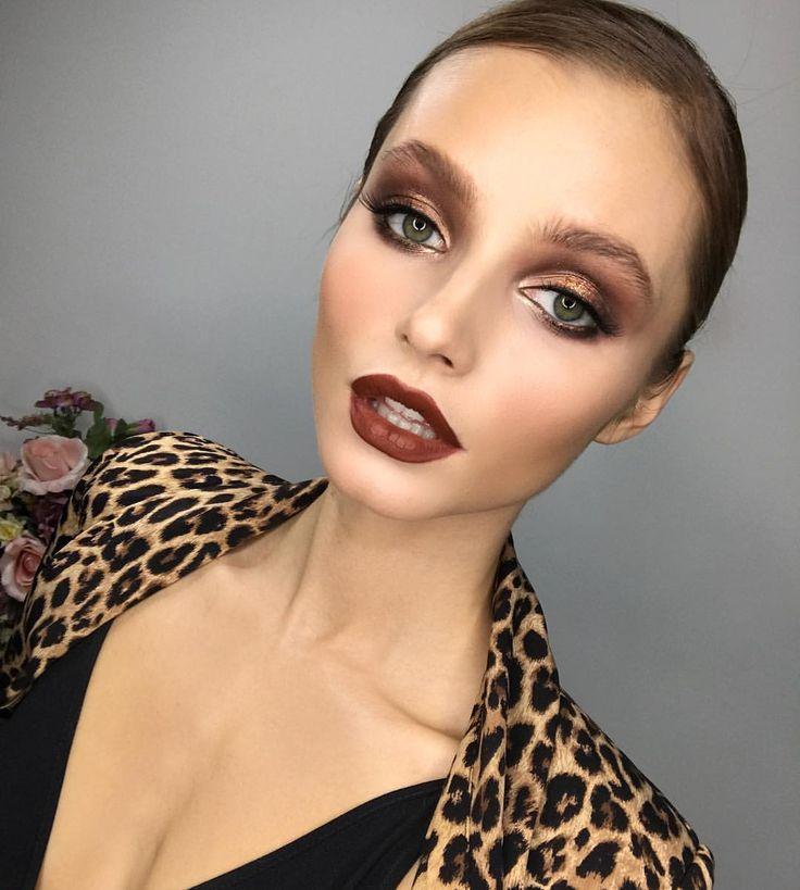 "8,522 Likes, 79 Comments - SERDAR_KAMBAROV (@serdar_kambarov) on Instagram: ""Хотите быть в тренде 😉, тогда знайте☝🏽️: самый модный макияж зимой 2016/17 👉🏿 рыжевато красный…"""