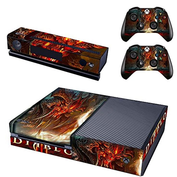 Diablo xbox one skin for console and controllers -- Awesome products selected by Anna Churchill