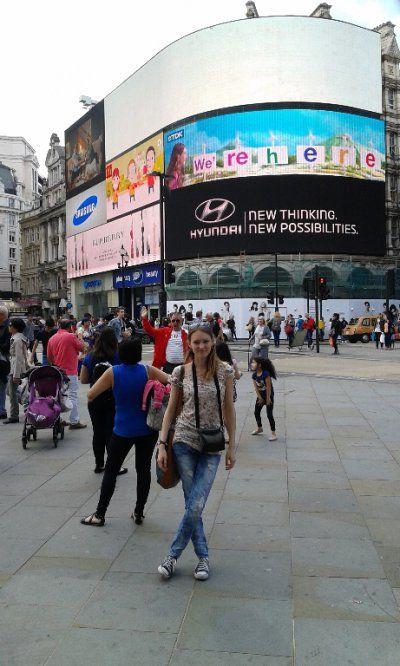 Summer Au pair Londyn 2014 - zdjęcia Patrycji