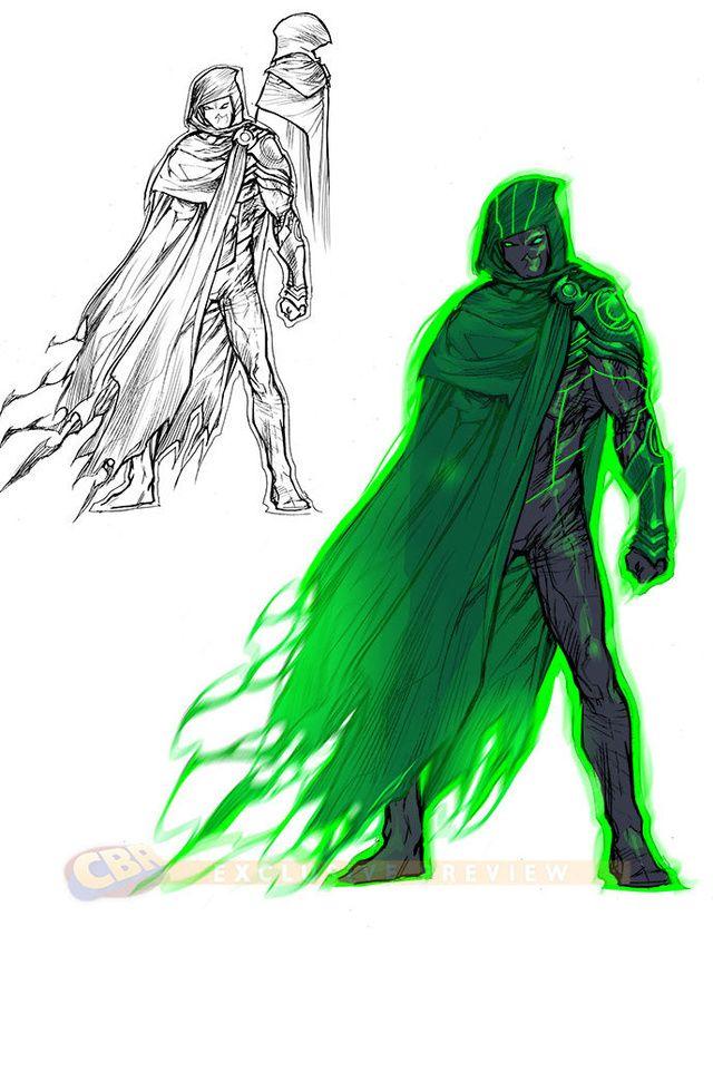 Green Lantern 3000. Definitely my favorite design. Talk about badass.