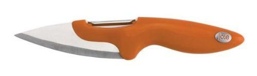 Jo!e 2 in 1 Peeler and Knife by MSC - Random colors by MSC. $5.00. This 2 in 1 Peeler and Slicer is a great tool that has a dual purpose. A safety Sheaths is included for safe storage. Available in green, orange and red - specific color available upon request.
