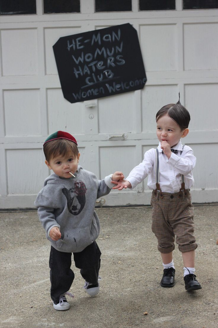 My little Rascals. @thelatorretwins SPANKY AND ALFALFA #thelittlerascals