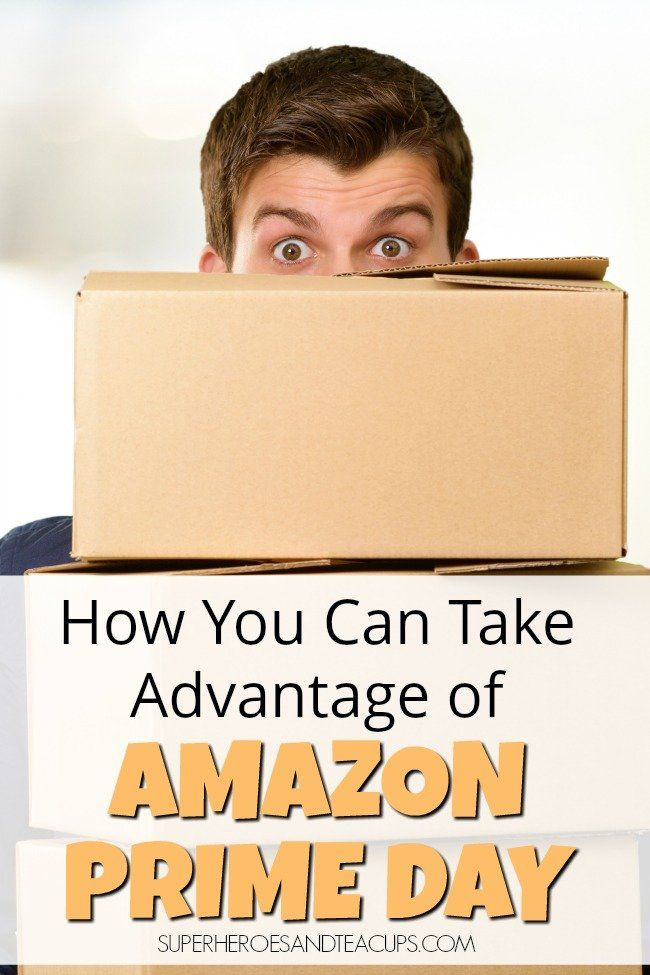 How You Can Take Advantage Of Amazon Prime Day Amazon Prime Day