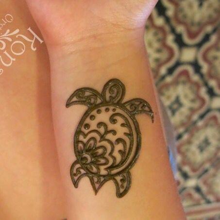 Turtle henna