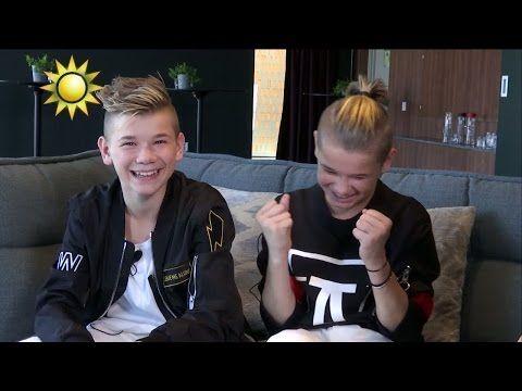 Marcus og Martinus - Sverige vlog del 1 / funny moments - YouTube